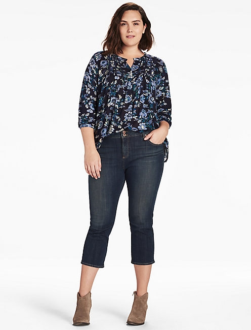 Lucky Floral Vines Top