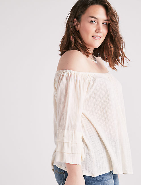 TIERED OFF THE SHOULDER,