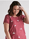 ALL OVER BIRD TEE,