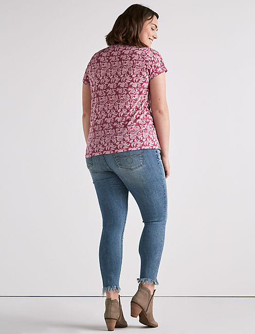 ALL OVER BURNOUT PRINT,