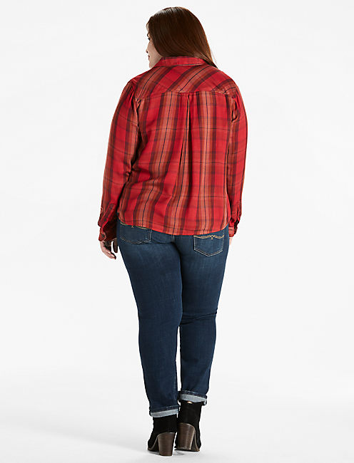 DUO FOLD PLAID SHIRT,