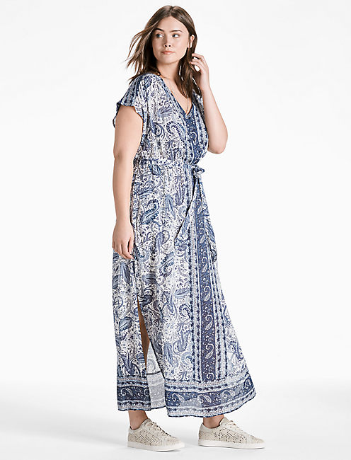 Lucky brand plus size maxi dress