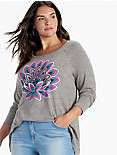 COLORFUL LOTUS TEE,