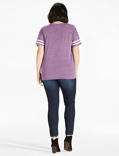 LUCKY TEE, PLUM PURPLE
