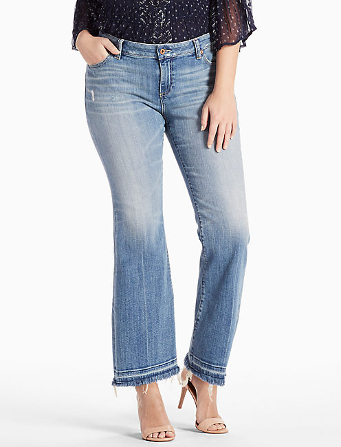 PLUS SIZE GINGER PETITE BOOTCUT JEAN IN COPPERAS COVE,