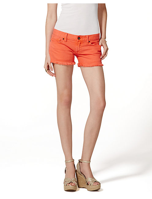 RILEY SHORTS, MANDARIN RED