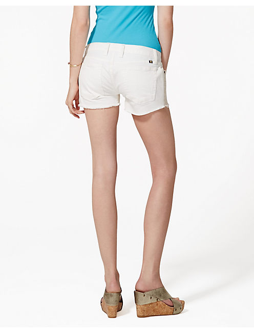EMBROIDERED SHORT, PEARL