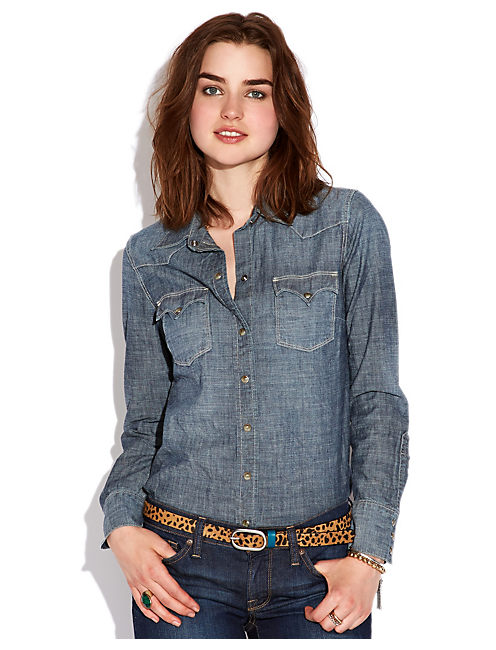 WESTERN CHAMBRAY SHIRT, WYNMERE