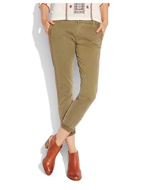 SIENNA CHINO, FIELD GREEN