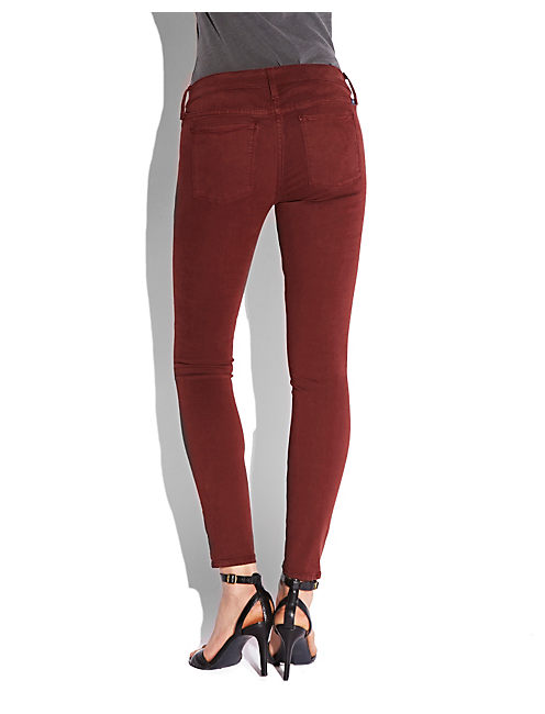 BROOKE LEGGING JEAN, #6725 FALL RED