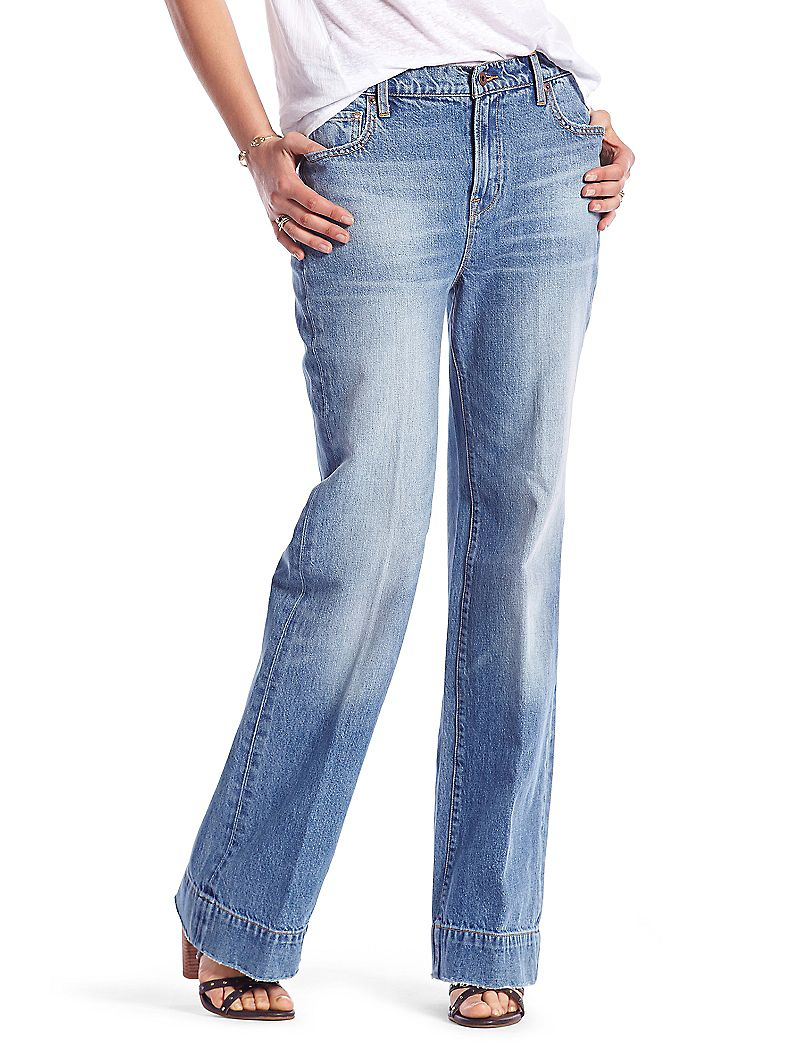 Lucky Brand Vintage Wide Leg Womens Flare Jeans