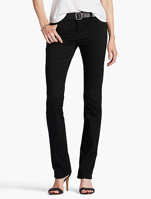 BROOKE BOOT JEAN, BLACK AMBER