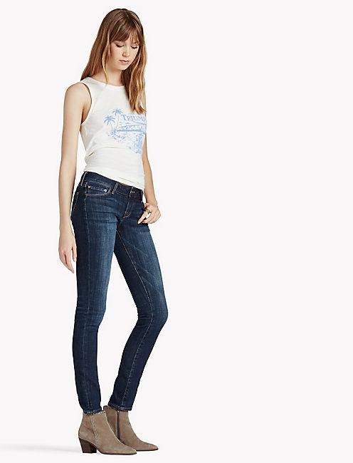 Lucky Lolita Mid Rise Skinny Jean In Matira
