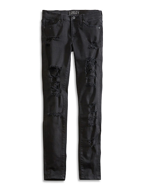 CHARLIE SKINNY, BLACK DESTRUCTED