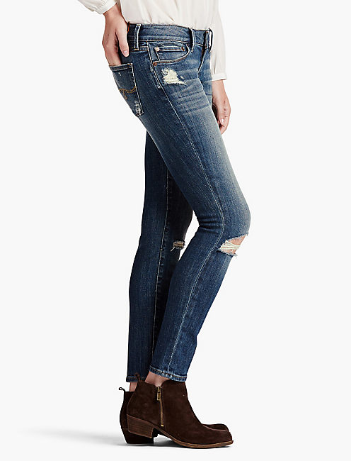 Lucky Lolita Mid Rise Skinny Jean In San Jacinto