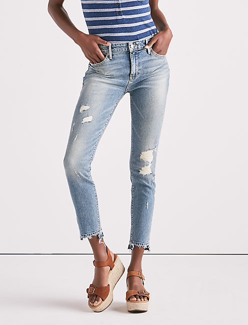AVA MID RISE SKINNY JEAN IN SUMMIT,