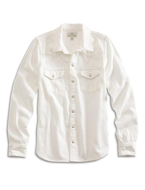 CLASSIC WESTERN SHIRT, WHITE