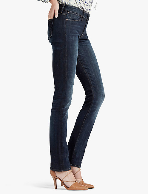 HAYDEN HIGH RISE SCULPTING STRAIGHT LEG JEAN IN BRANBURY,