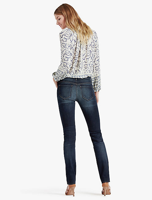 Lucky Hayden High Rise Sculpting Straight Leg Jean In Branbury