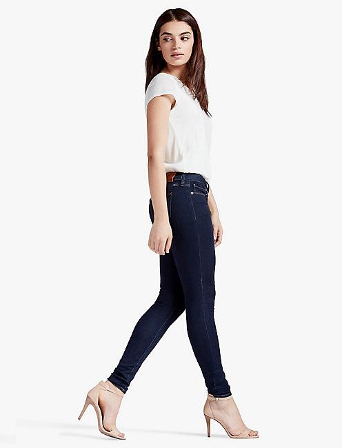 Lucky Sasha Super Skinny Mid Rise Legging Jean In Bronson