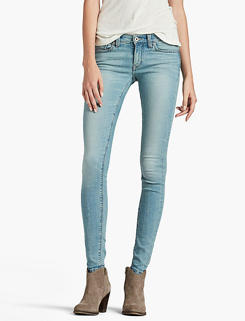 Blue Designer Skinny Jeans for Women | Lucky Brand