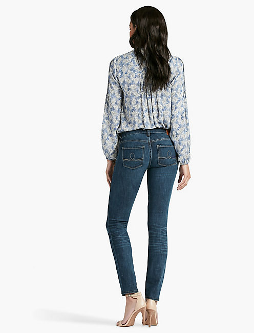 SOFIA MID RISE SKINNY JEAN IN BARRIER,