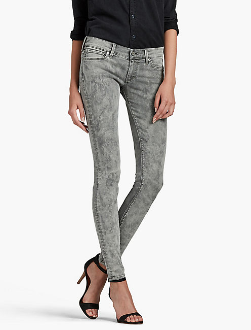 Grey Designer Skinny Jeans for Women | Lucky Brand