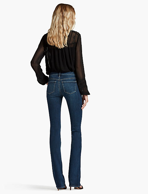 HAYDEN HIGH RISE SCULPTING BOOT JEAN IN LUCKY BLUE,