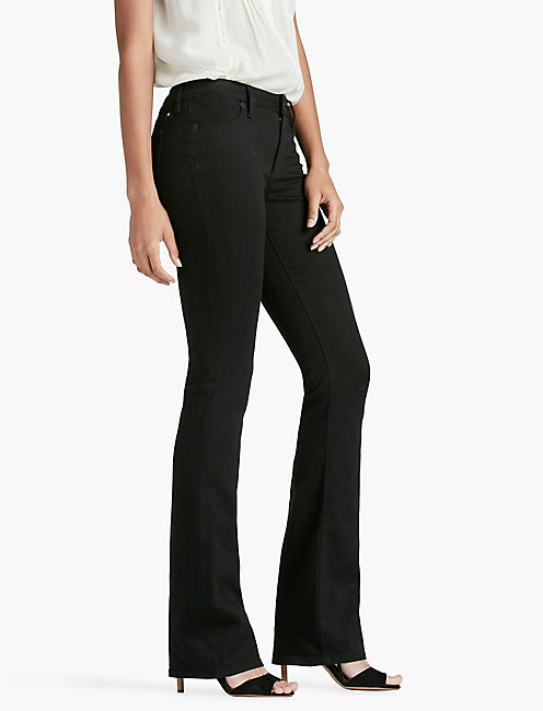 Lucky Hayden High Rise Sculpting Bootcut Jean In Black Amber