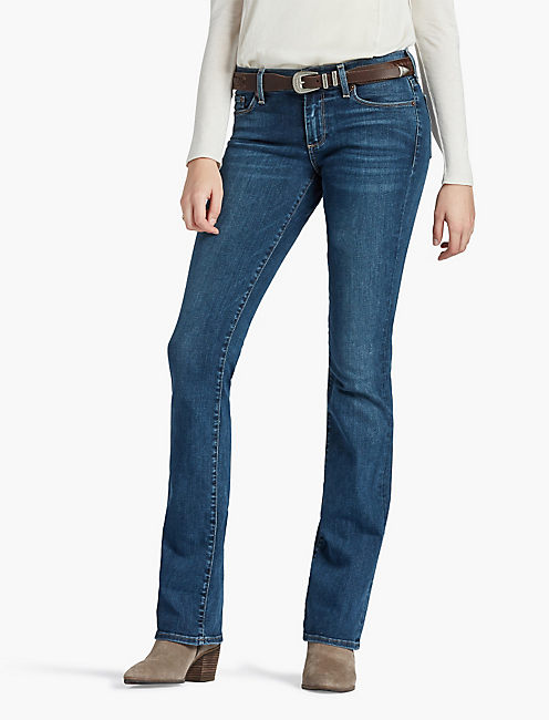 SWEET BOOT JEAN IN ARROW INDIGO, ARROW INDIGO