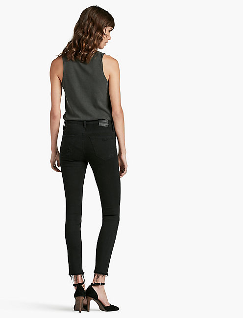 BRIDGETTE SKINNY, BLACK DESTRUCTED