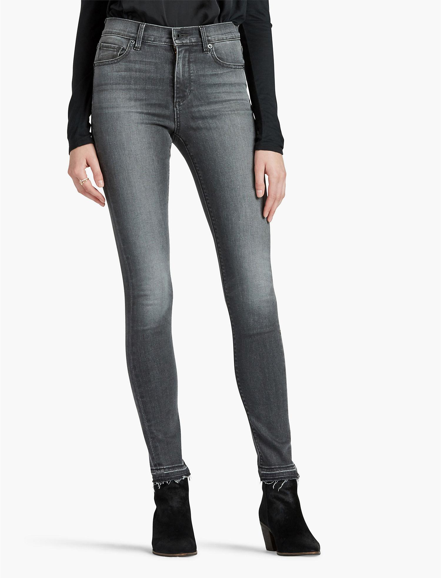 Lucky Bridgette Skinny - Womens Grey Skinny Jeans Lucky Brand