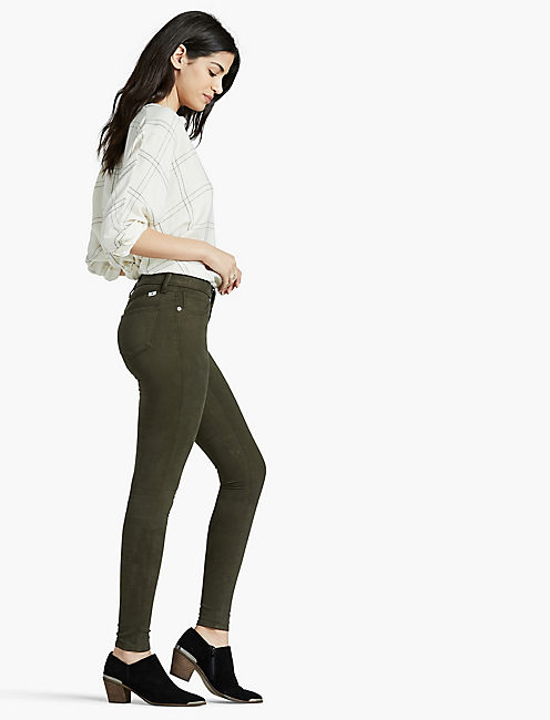 SASHA SUPER SKINNY, FOREST GREEN