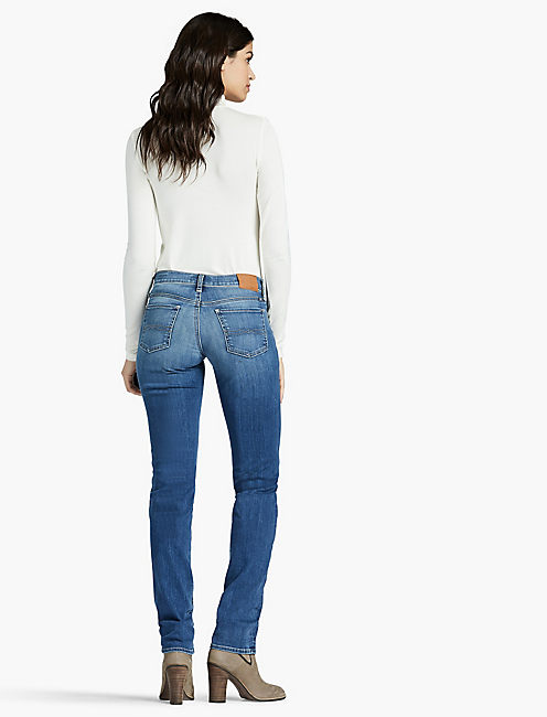 SWEET STRAIGHT LEG JEAN IN FAULTLESS, FAULTLESS