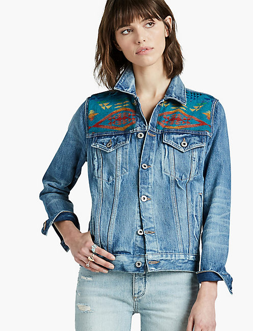 THE PENDLETON TRUCKER JACKET, FARWELL