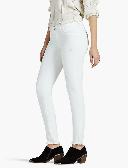 Low Rise White Jeans | Lucky Brand
