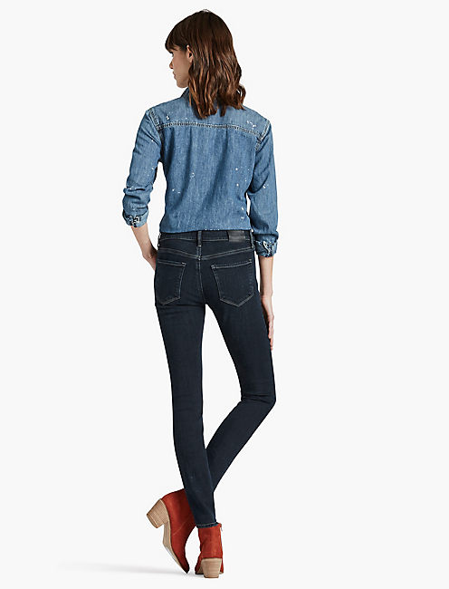 BRIDGETTE HIGH RISE SKINNY JEAN IN RESTLESS, RESTLESS