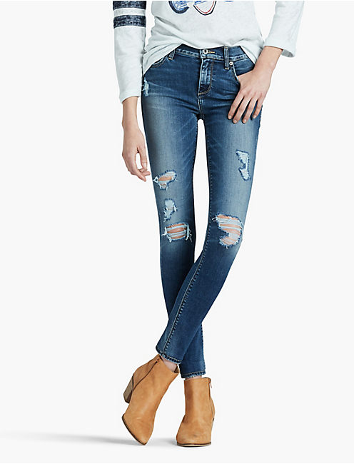 BROOKE MID RISE LEGGING JEAN IN HONEST, HONEST