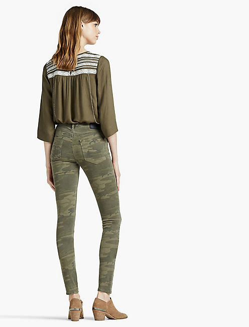 BROOKE LEGGING JEAN, JAGGED CAMO