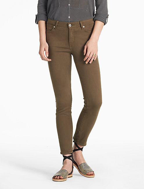 Womens Green Skinny Jeans | Lucky Brand