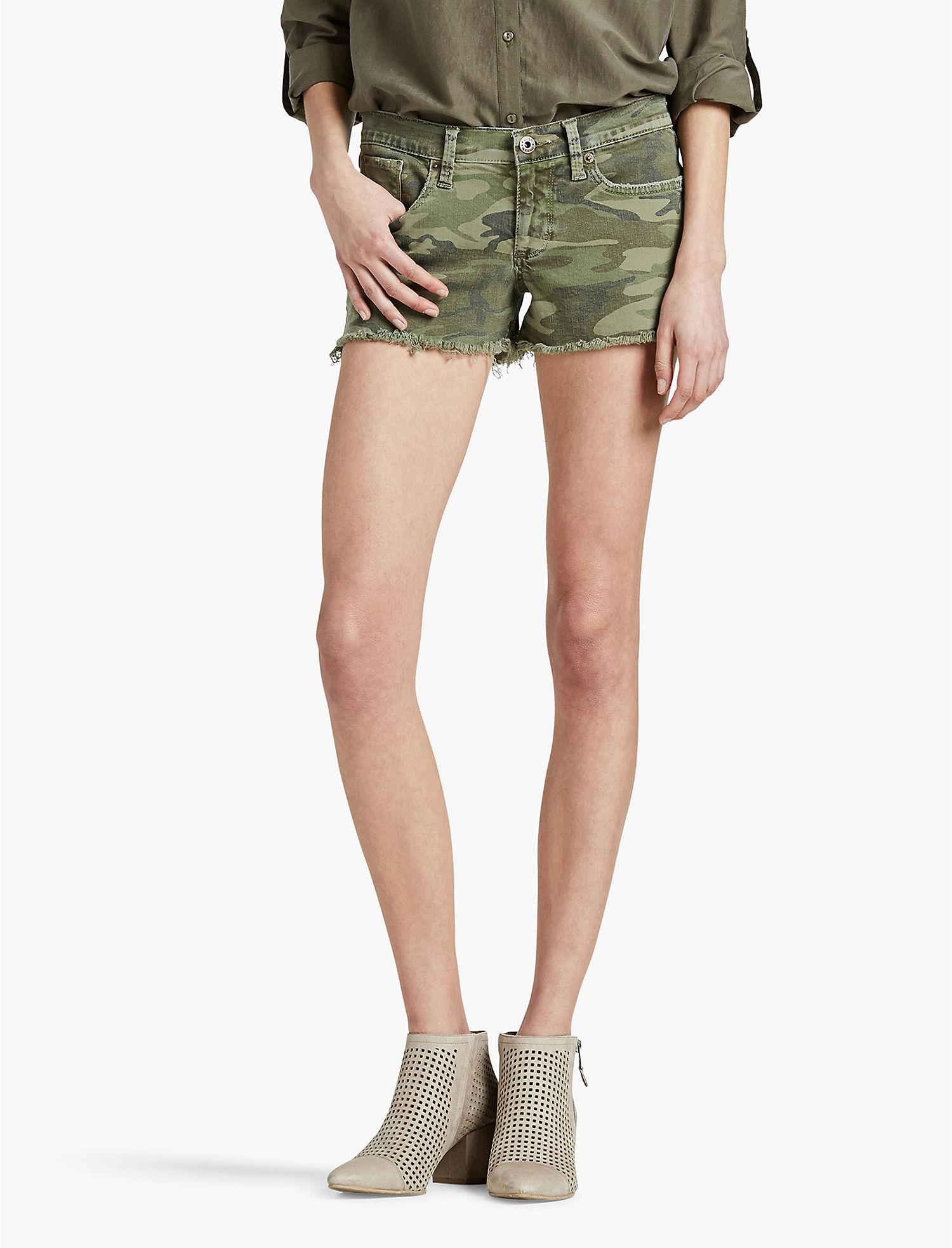 Green Denim Shorts for Women | Lucky Brand