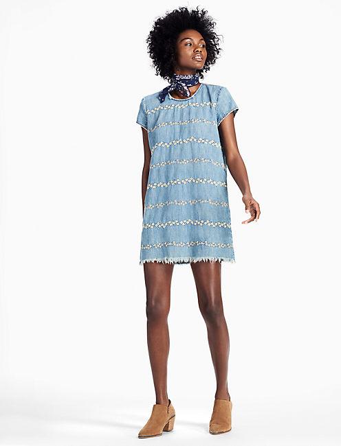 FLORAL SHIFT DRESS,
