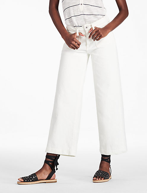 WIDE LEG CROP PATCH POCKETS, CALLISBURG
