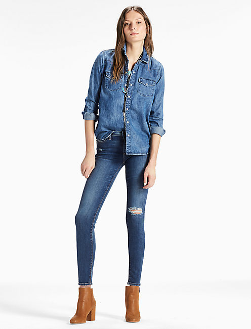 Lucky Classic Denim Western Shirt