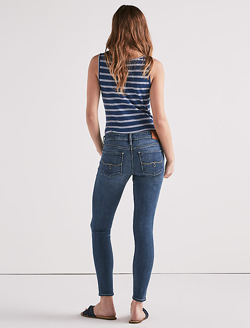LOLITA MID RISE SKINNY JEAN IN HASLET, HASLET