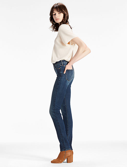 Lucky Hayden Sculpting High Rise Slim Straight Jean In Rockwall
