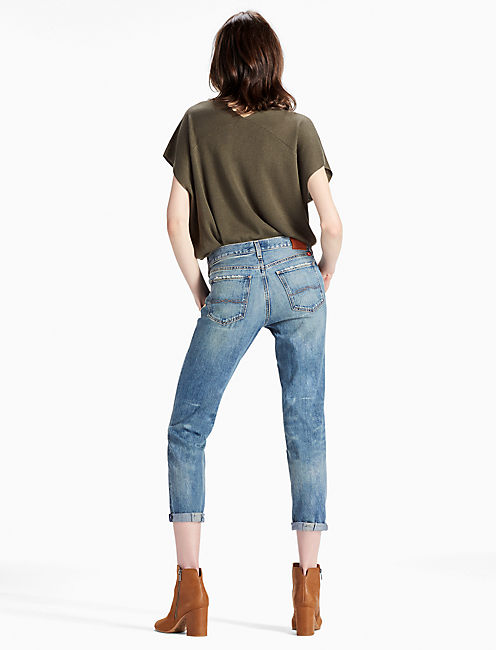 SIENNA SLIM BOYFRIEND JEAN, HATCH