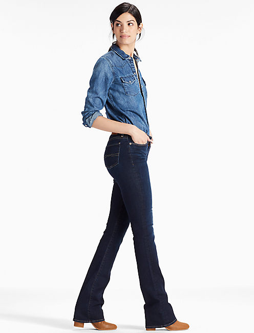 Lucky Sweet Mid Rise Bootcut Jean In Twilight Blue