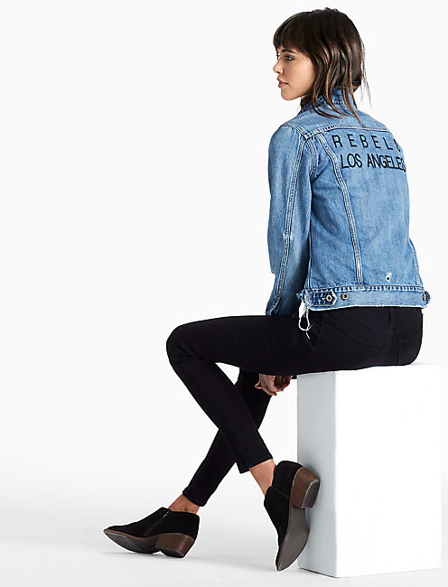 REBELS LOS ANGLELES DENIM JACKET,