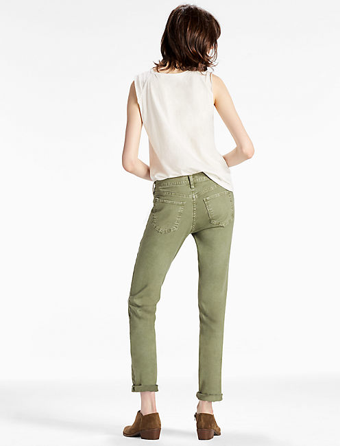SIENNA MID RISE UTILITY PANT IN ARMY GREEN, ARMY GREEN